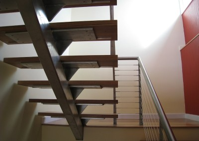 Modern Stairs by Chris Cowley Builders