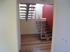 Stairwell by Chris Cowley Builders